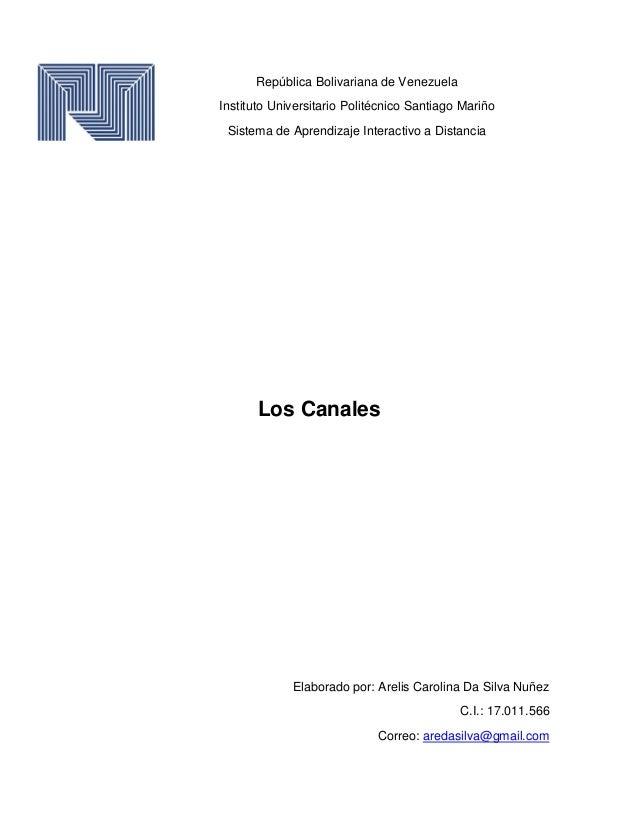 República Bolivariana de Venezuela Instituto Universitario Politécnico Santiago Mariño Sistema de Aprendizaje Interactivo ...