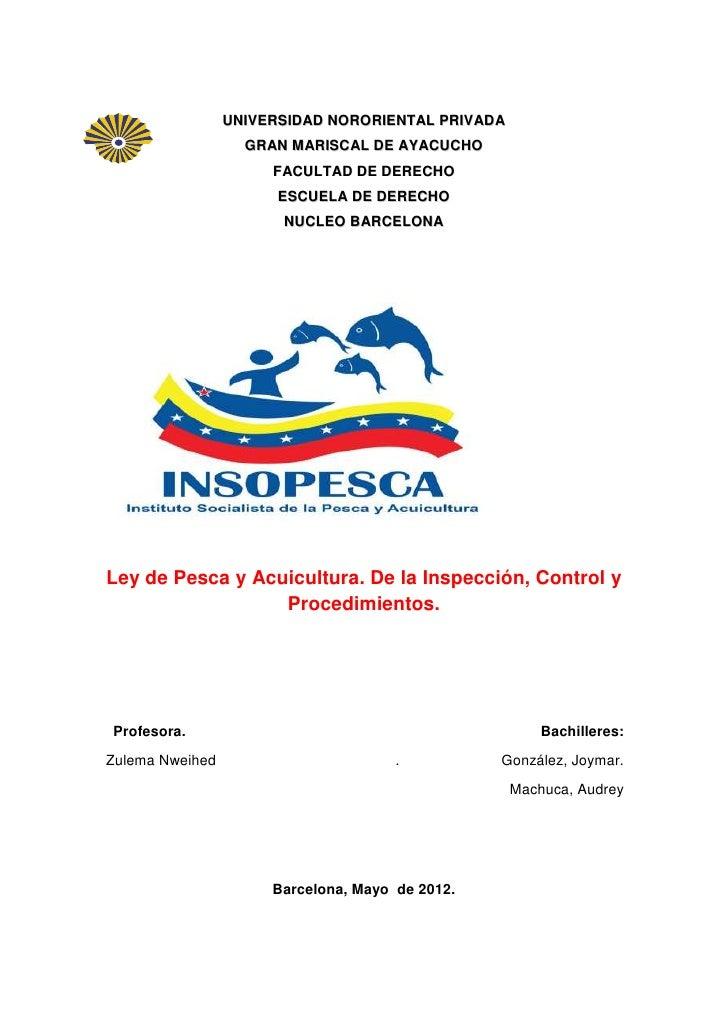 UNIVERSIDAD NORORIENTAL PRIVADA                   GRAN MARISCAL DE AYACUCHO                      FACULTAD DE DERECHO      ...