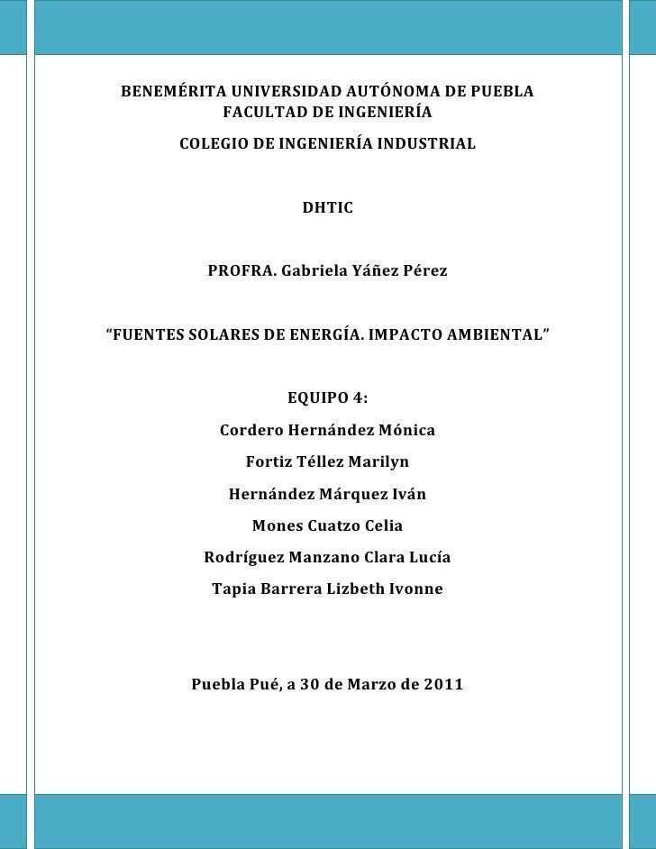 BENEMÉRITA UNIVERSIDAD AUTÓNOMA DE PUEBLA           FACULTAD DE INGENIERÍA       COLEGIO DE INGENIERÍA INDUSTRIAL         ...
