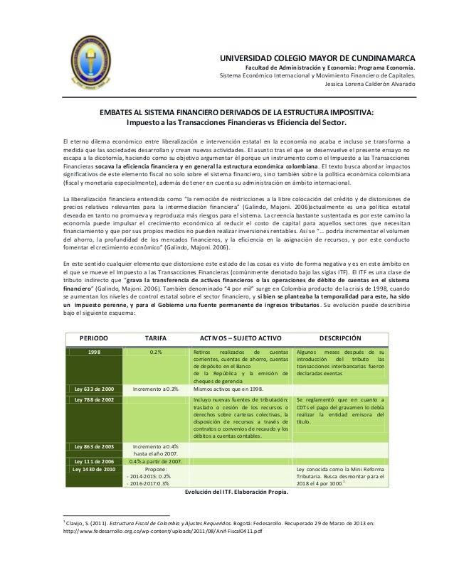 UNIVERSIDAD COLEGIO MAYOR DE CUNDINAMARCA                                                                           Facult...