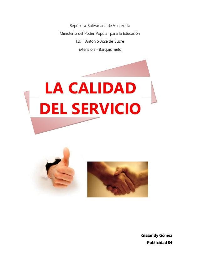 República Bolivariana de Venezuela Ministerio del Poder Popular para la Educación I.U.T Antonio José de Sucre Extensión - ...