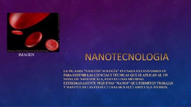 ensayo nanotecnología LUIS ANDRÉS PALLASCO SEVILLA