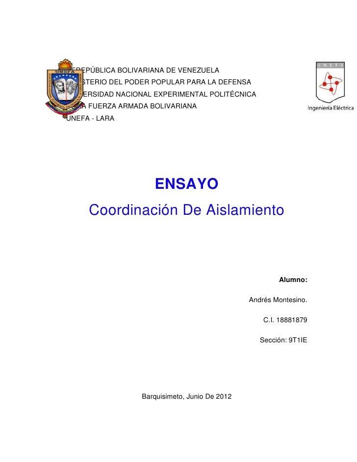 REREPÚBLICA BOLIVARIANA DE VENEZUELAMINISTERIO DEL PODER POPULAR PARA LA DEFENSAUNIVERSIDAD NACIONAL EXPERIMENTAL POLITÉCN...