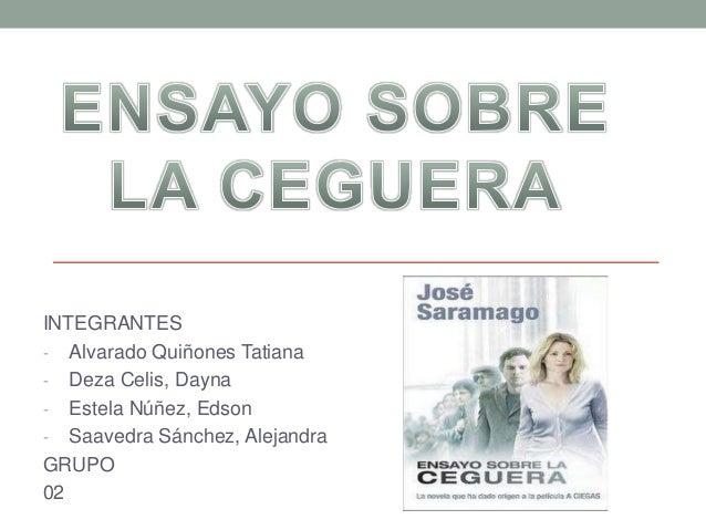 INTEGRANTES  - Alvarado Quiñones Tatiana  - Deza Celis, Dayna  - Estela Núñez, Edson  - Saavedra Sánchez, Alejandra  GRUPO...