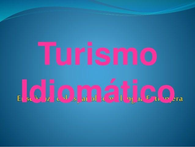 Turismo Idiomático