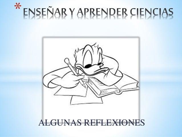 ALGUNAS REFLEXIONES *