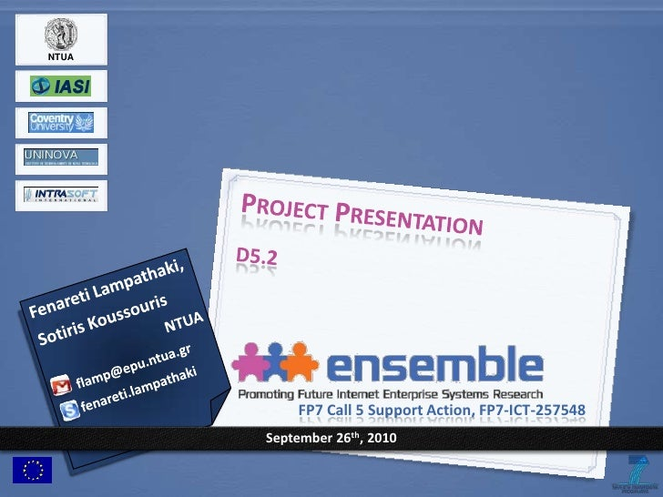 Ensemble d5.2 project presentation ntua-v0.20