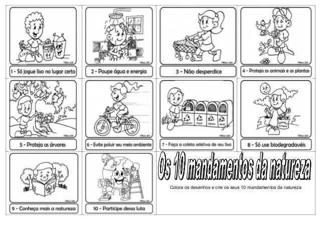 Ensino religioso os 10 mandamentos da