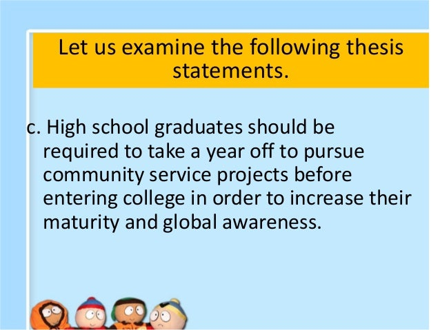 thesis statement on community service Thesis statement is not and useful to community service reflection essay english class creative writing community service community service essay thesis click go.