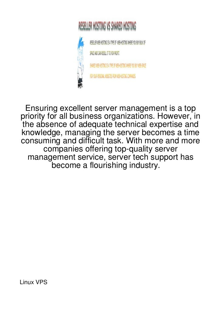Ensuring excellent server management is a toppriority for all business organizations. However, inthe absence of adequate t...