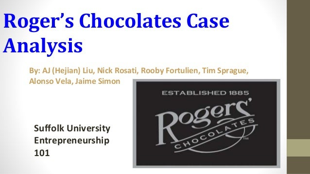 ivey case analysis rogers chocolates solutions