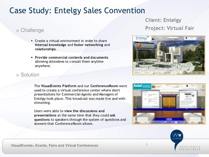 Case Study: Entelgy Sales Convention                                                                         Client: Entel...