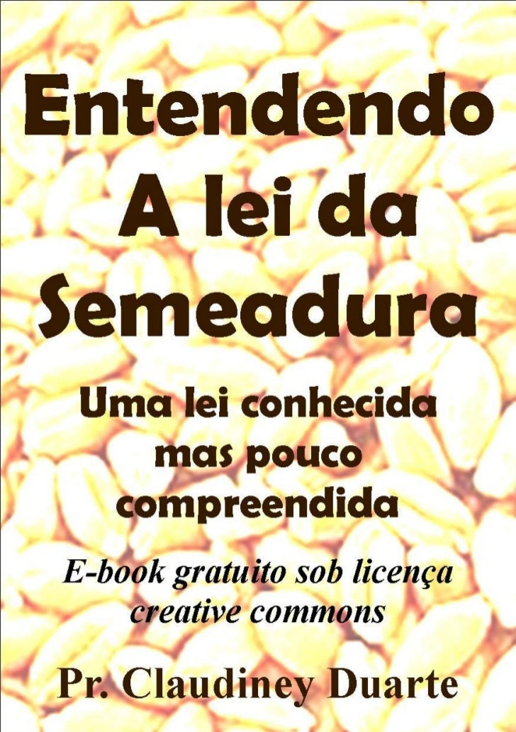 Entendendo a lei da semeadura