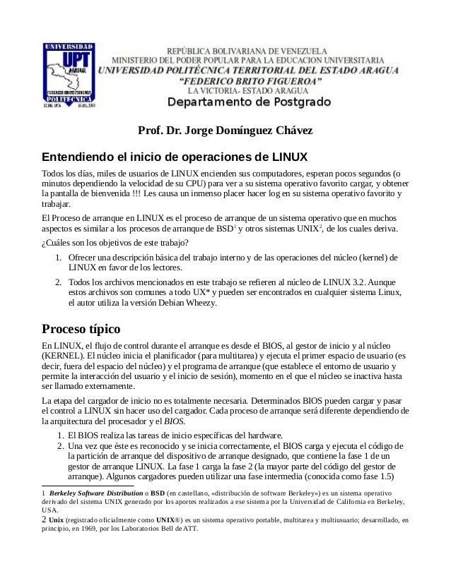 Entender linux