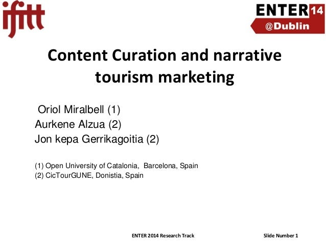 Content Curation and Narrative Tourism Marketing
