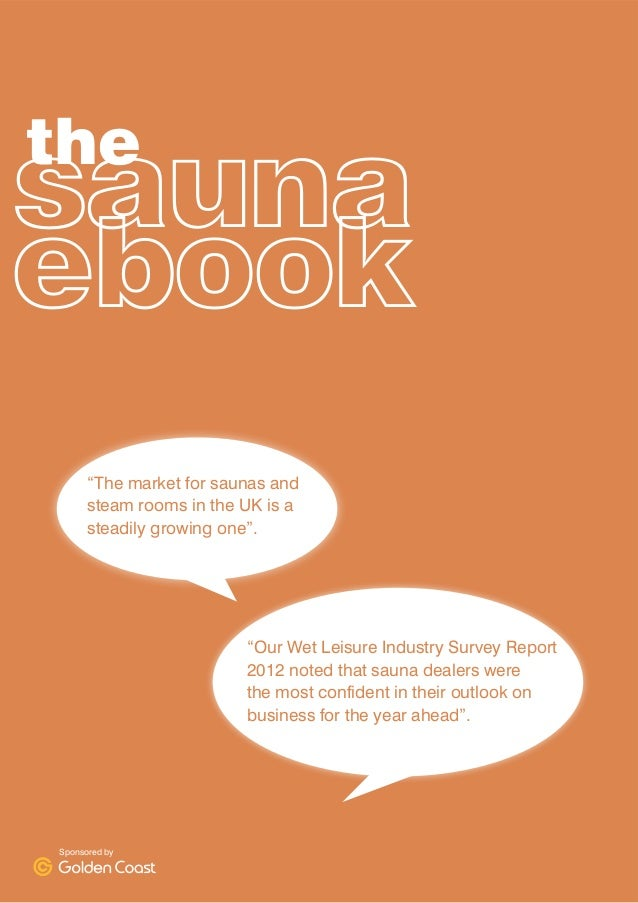A Guide to Expaning Your Business into the Sauna market