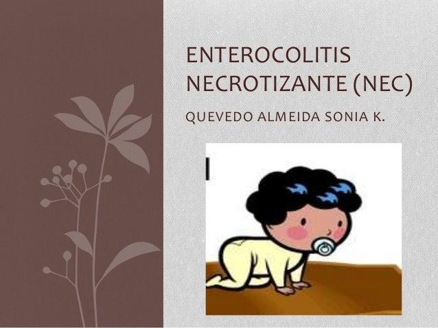 Enterocolitis necrotizante (nec)