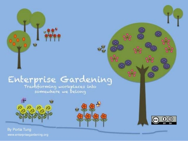 Enterprise Gardening                      Transforming your organisation into                      the place where you lon...
