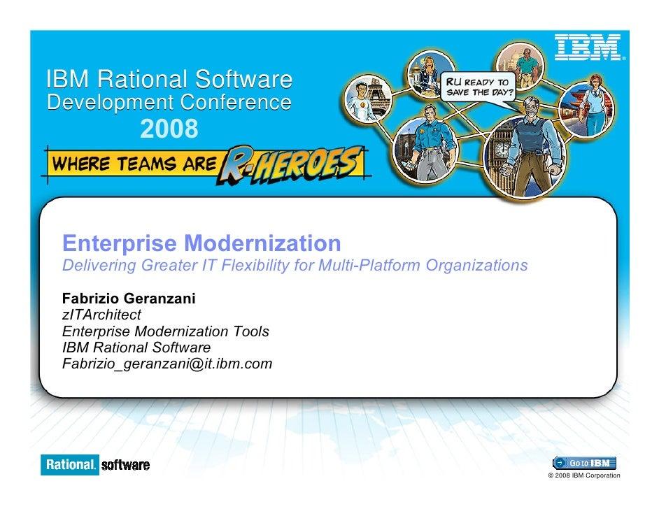 Enterprise Modernization