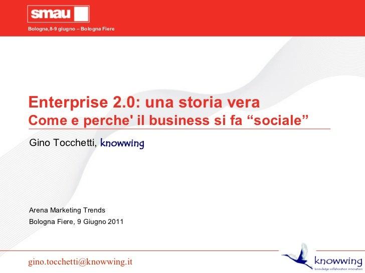 Enterprise 2.0 come e perche il business si fa social