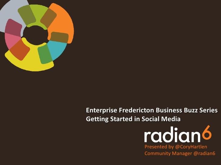 Business Buzz - Radian6
