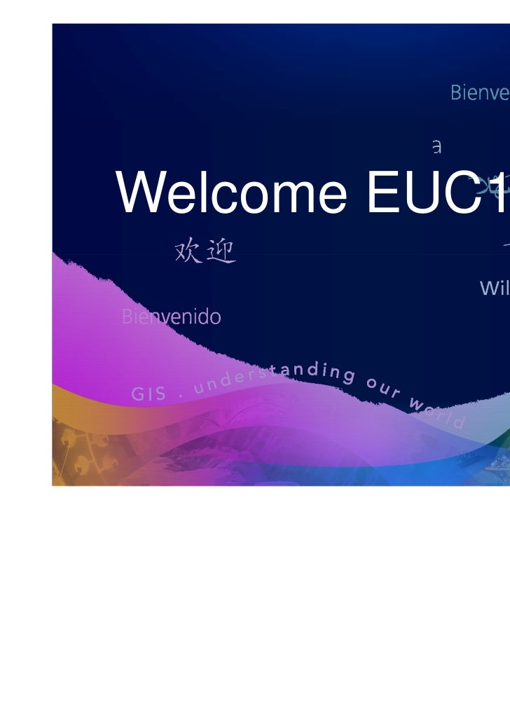 Welcome EUC11