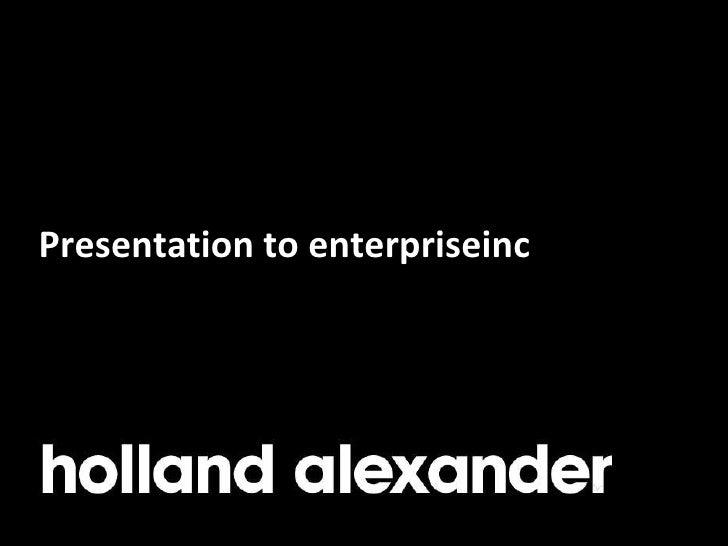 Holland Alexander - Guest Entrepreneur