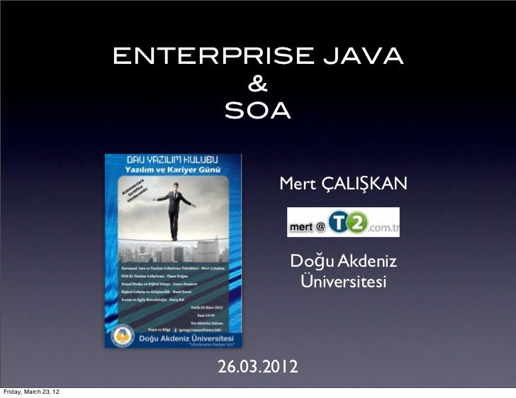 Enterprise Java and SOA