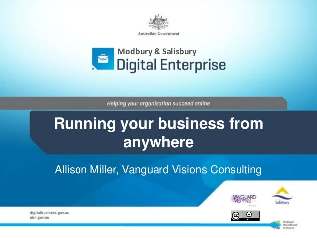 Running your business from anywhere - August 13