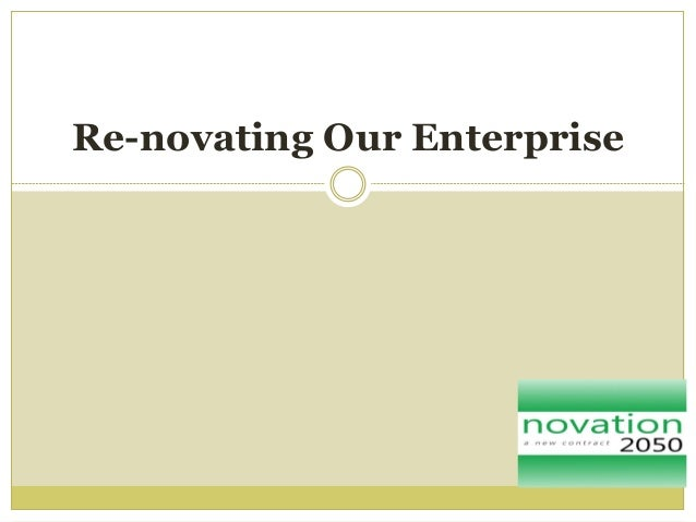 Enterprise re novation january 2013