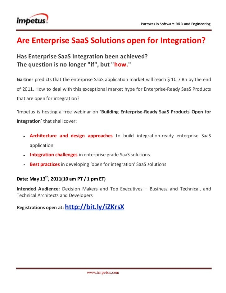 Enterprise SaaS Solutions