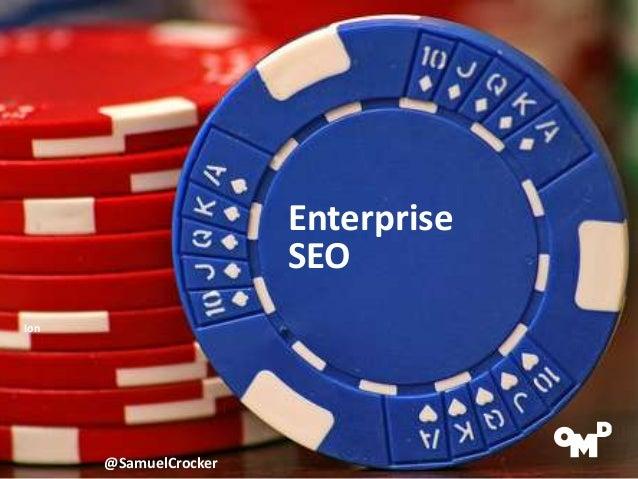 Enterprise SEO ionsearch Samuel Crocker