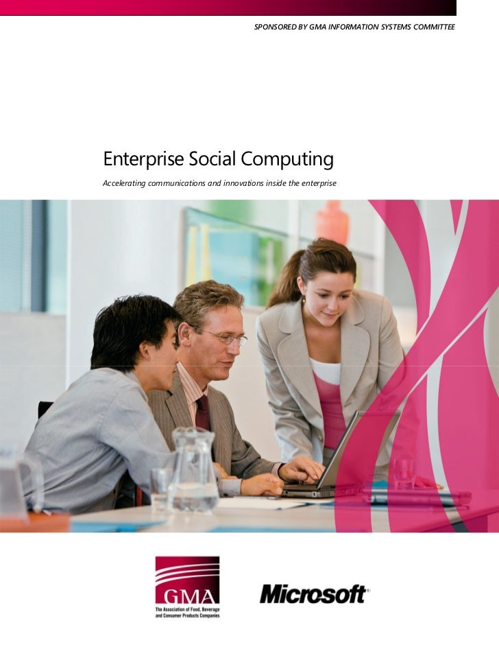 Enterprise Social Computing
