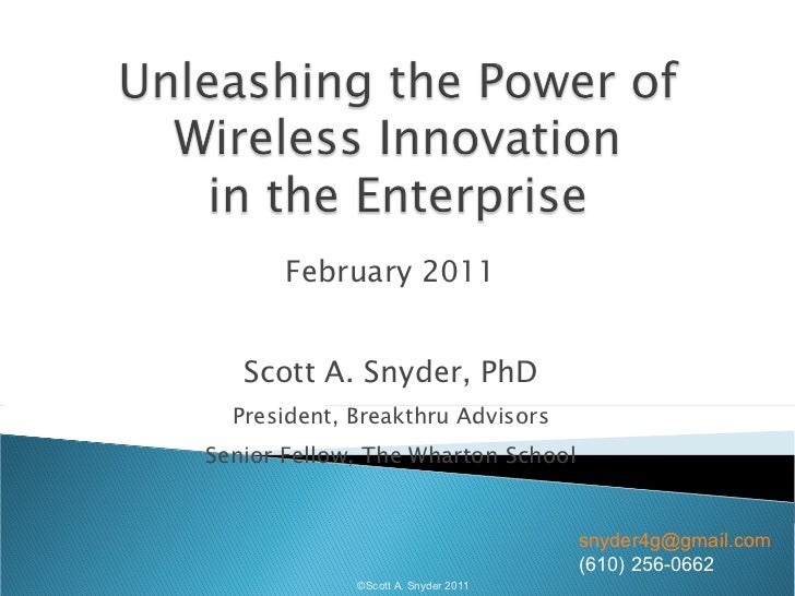 Enterprise wireless innovation snyder-4 gwe-feb11-prezo