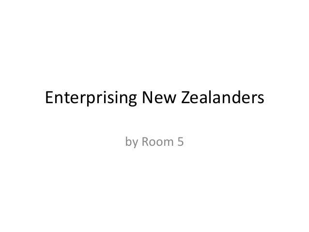 Enterprising new zealanders