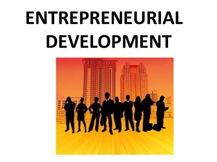 Utsav Mahendra : Enterprneurial Development
