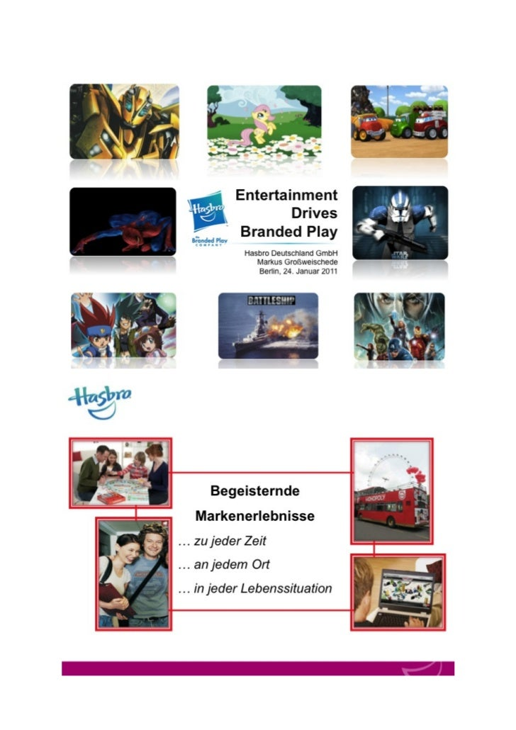 Entertainment drives Branded Play