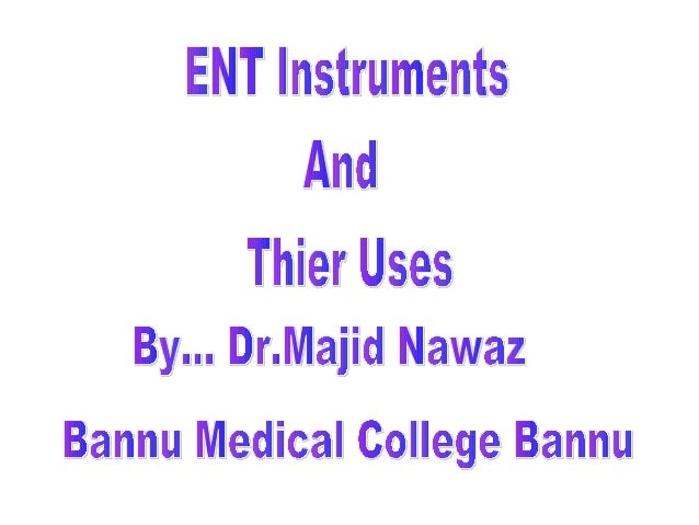 Surgicals Instruments And Use Surgical Instruments With