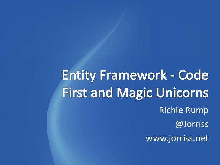 Richie Rump      @Jorrisswww.jorriss.net