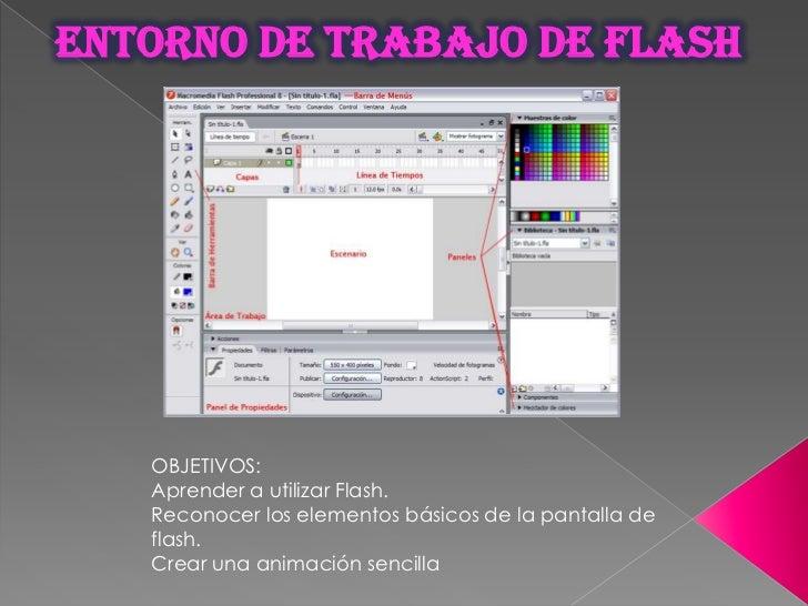 Entorno de trabajo de flash