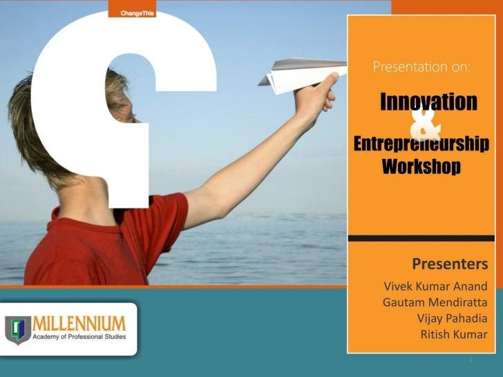 inovation workshop