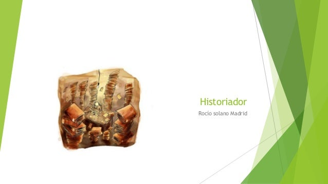 Historiador Rocío solano Madrid