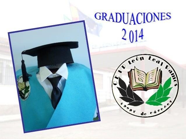 Entrega de diplomas b 2014