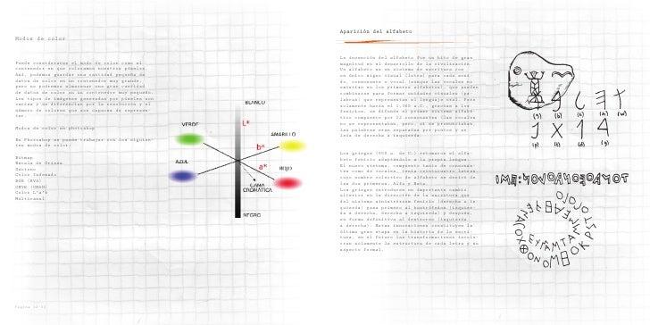 Aparición del alfabeto Modos de color                                                     La invención del alfabeto fue un...
