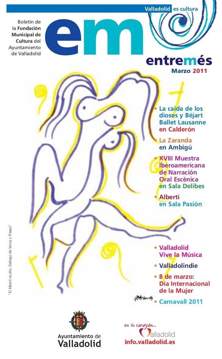 Boletín de  la Fundación  Municipal de    Cultura del Ayuntamiento  de Valladolid                                  em     ...