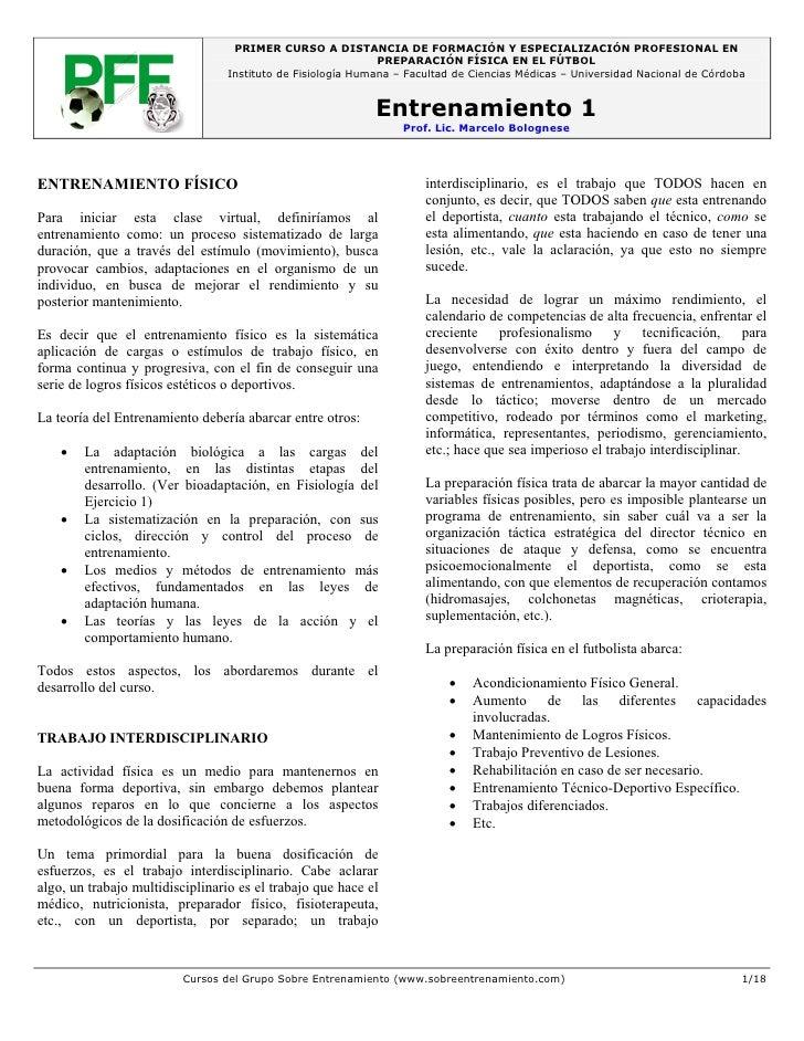 PRIMER CURSO A DISTANCIA DE FORMACIÓN Y ESPECIALIZACIÓN PROFESIONAL EN                                                    ...