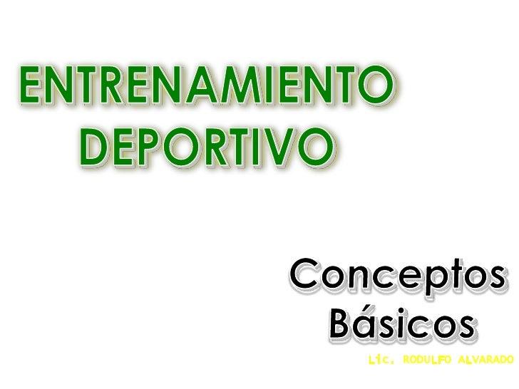 Clase de Entrenamiento Deportivo
