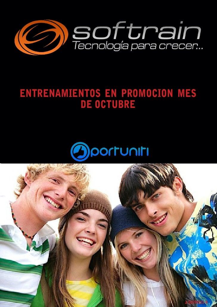 Entrenamientos promocion oct 2010