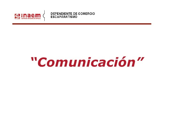 """""""Comunicación""""             Zaragoza, Marzo 2008"""