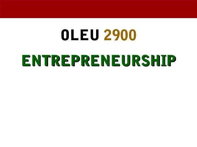 Entrepreneurship Weeks 5&6 Ethan Chazin